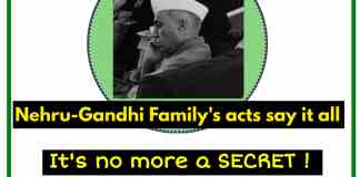 Nehru Gandhi Family chart history anti-hindu, anti-national