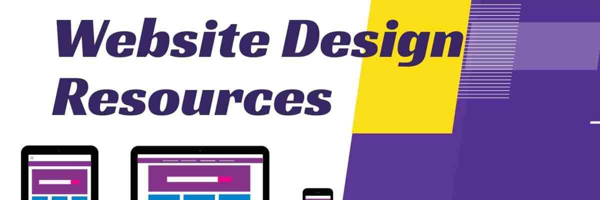 Website web design tools & resources
