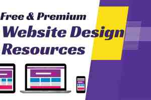 Website web design tools & resources