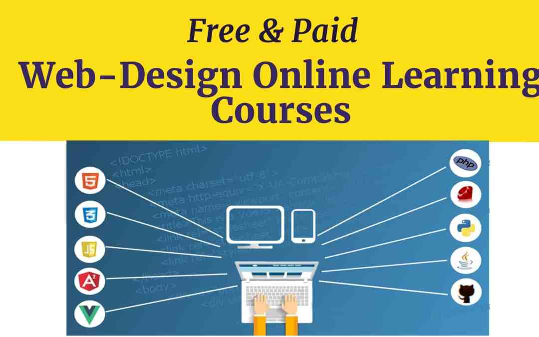 Web design online learning: free & paid courses