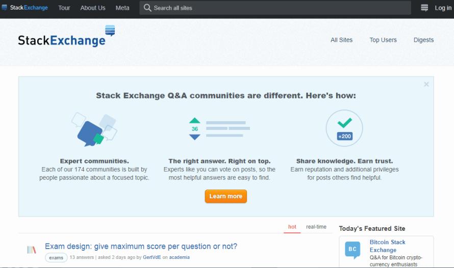 StackExchange