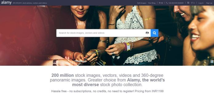 Alamy as Shutterstock Competitors