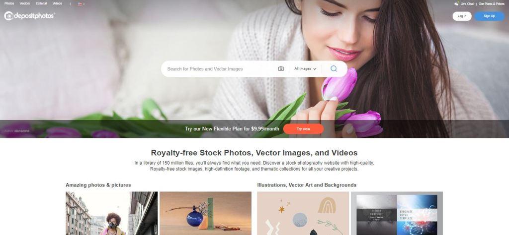 depositphotos as Shutterstock alternative