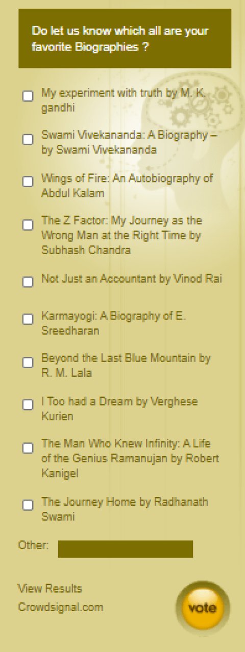 best biography and autobiography books india