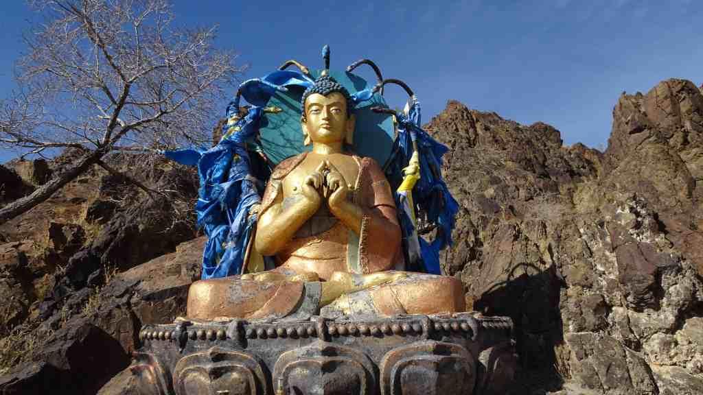 Golden Buddha at Monastery