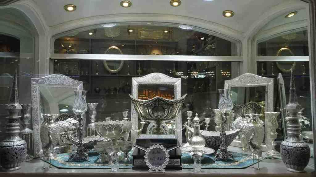 Ostentatious silver work