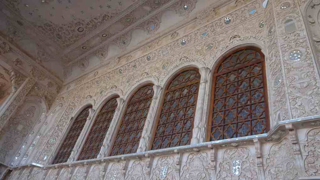 Numerous details in the Tabatabaei house
