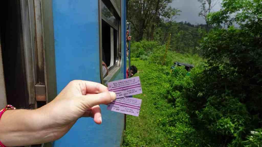 Train Ella Kandy ticket