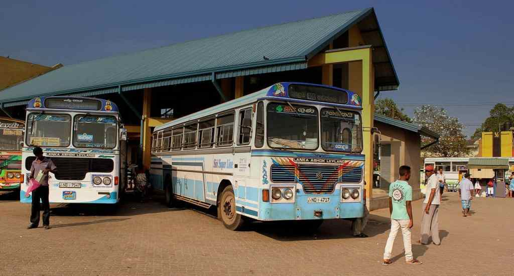 Transportation, Busses in Sri Lanka. Source Wikimedia Commons