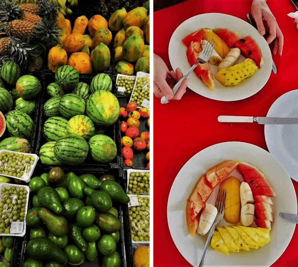 Food in Sri Lanka; fresh food
