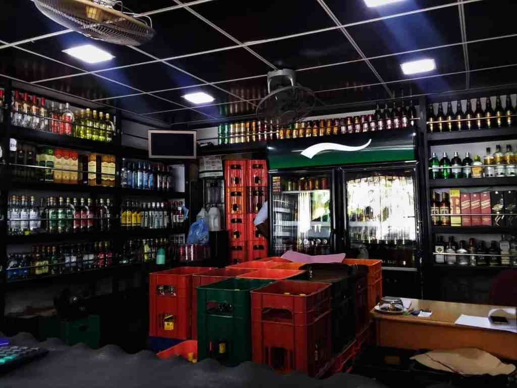 Save on food in Sri Lanka; buy alcohol in local 'Wine Stores'.