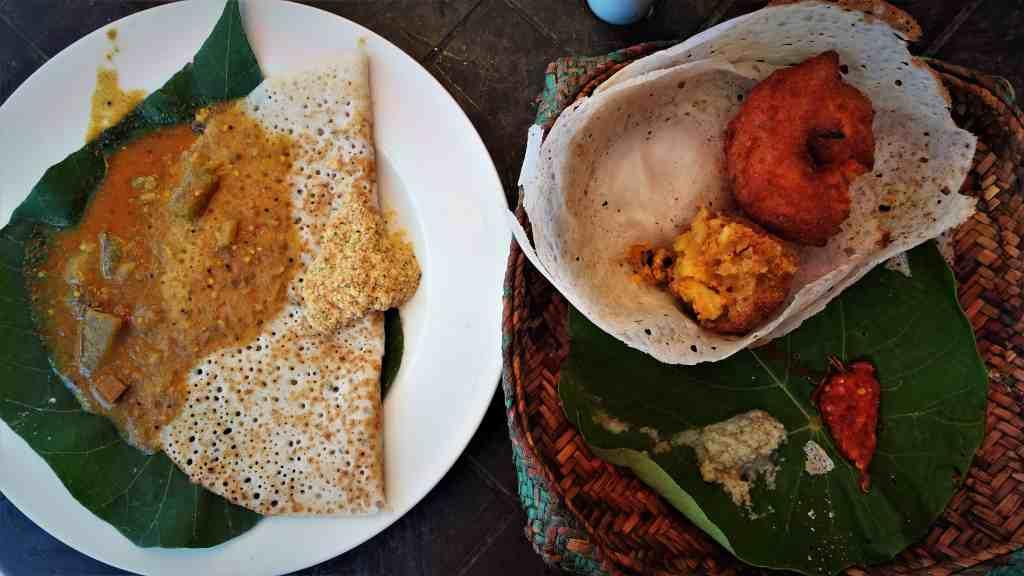 Save on food in Sri Lanka; eat local food
