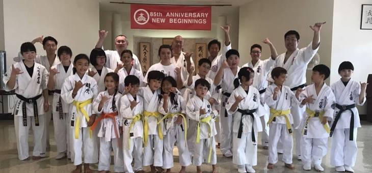 沖縄の「空手の日演武会」