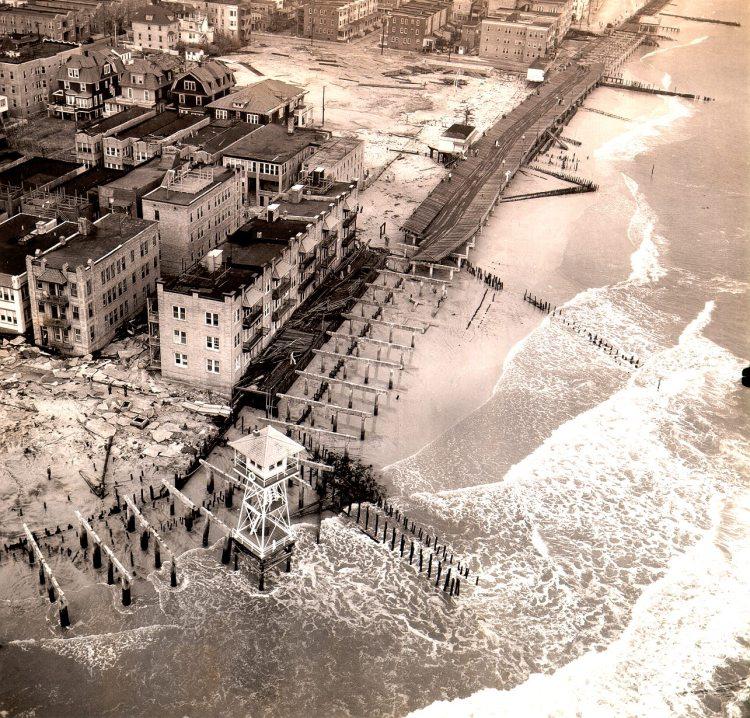 Hurricane damage 1944