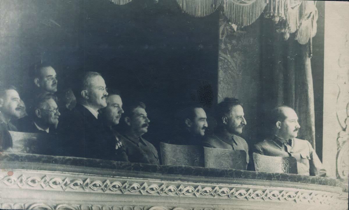 Stalin at the Bolshoi