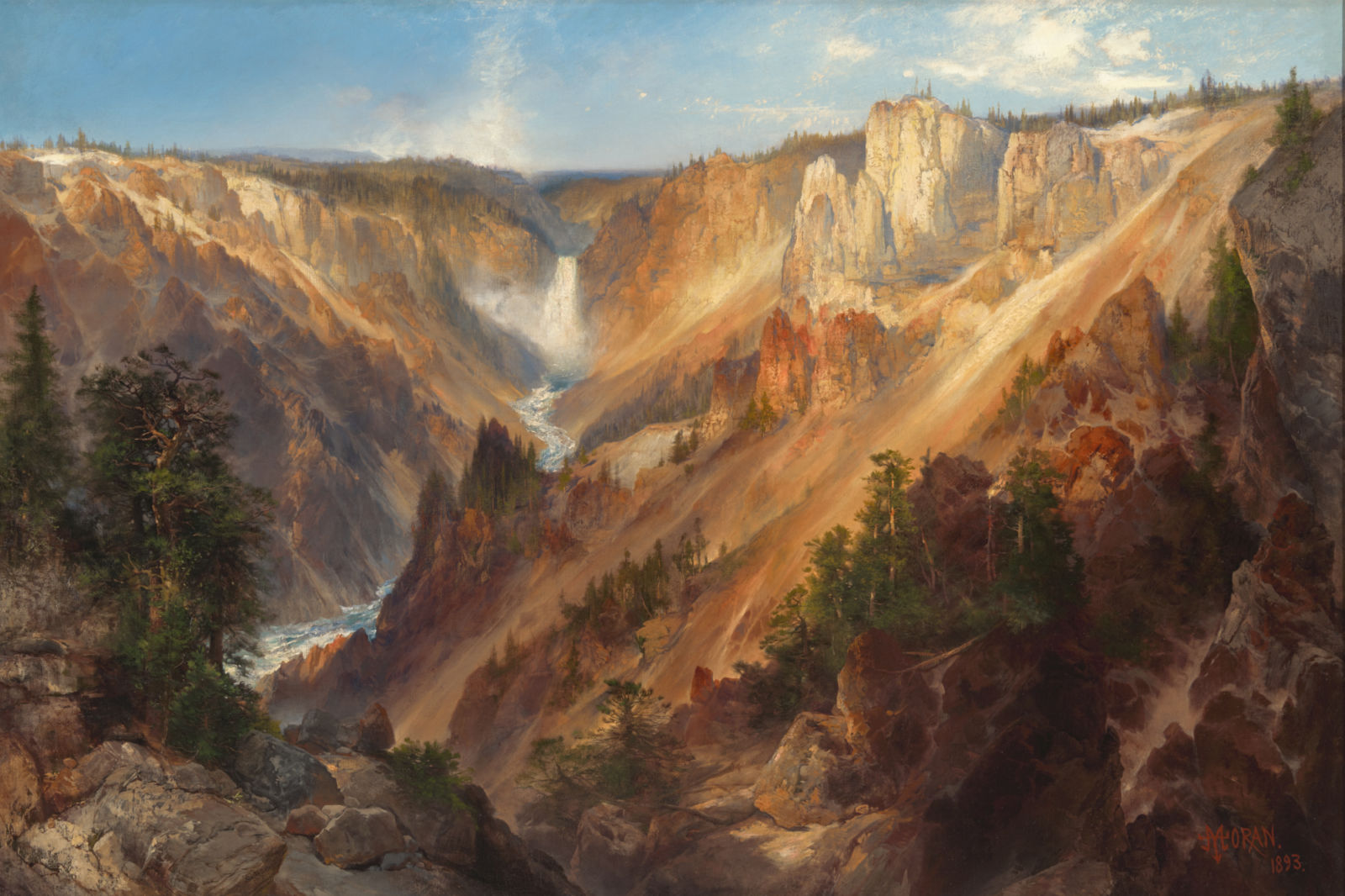 Painting of the Grand Canyon by Thomas Moran