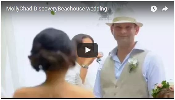 Molly & Chad's Beach Wedding Dream Come True