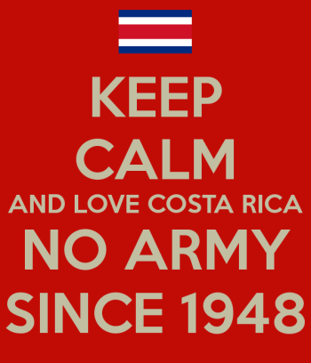 Costa Rica. No army since 1948.