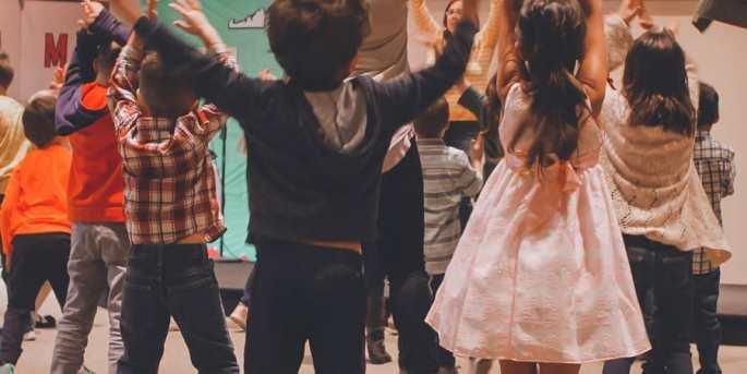 social activities for preschooler including music and dance-dance party