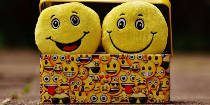 social-emotional development activities for preschoolers and toddlers-box of emoticons