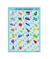 This large, attractive poster makes it a great choice for young children to learn the Arabic alphabet. With an image and the Arabic word (along with transliteration) for each letter, parents who do not speak Arabic can also help support their children. This is great to have up in a playroom or a classroom. Consider buying the Arabic Numbers poster and giving it as a gift-set. This would make a lovely teacher gift for your child's weekend school/halaqa teacher as well. Price: $6.00 (or 2 for $10 - can mix and match with the numbers poster).