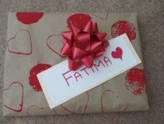 handmade giftwrap