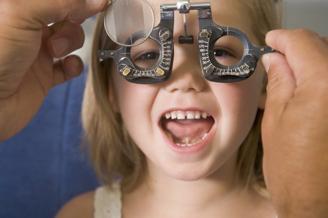 child eye exam - Learning-related vision problems
