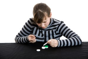 Contact Lens Fitting for Children