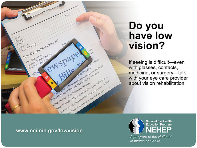 Low vision awareness