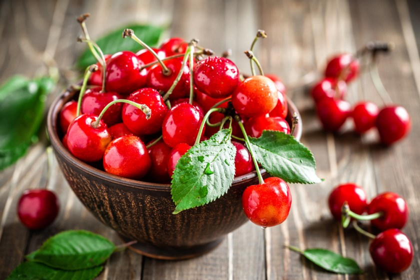cherries - 7 Spring Fruits & Vegetables