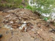 Erosian & waterfall fish tail dam