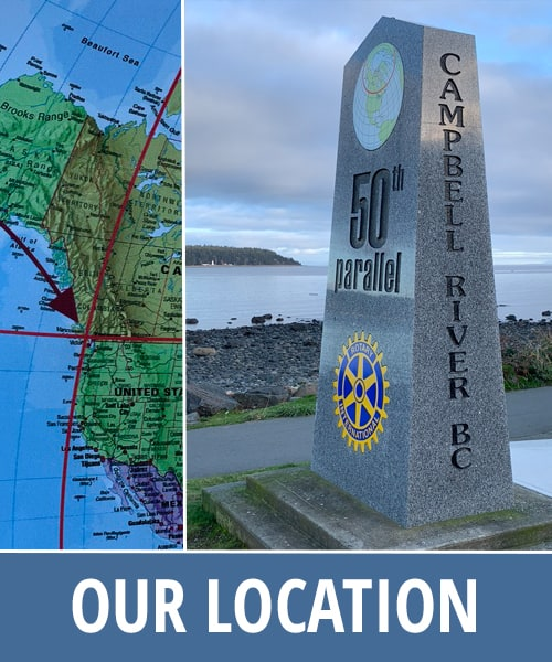 Discovery Marine Safaris Campbell River Location