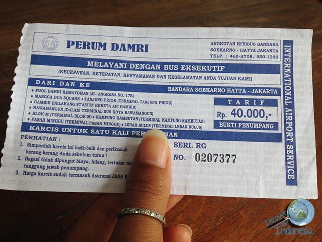 Damri New Tariff 2015