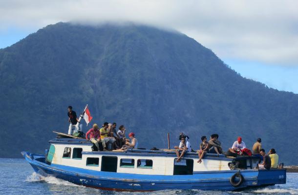 trip to krakatoa