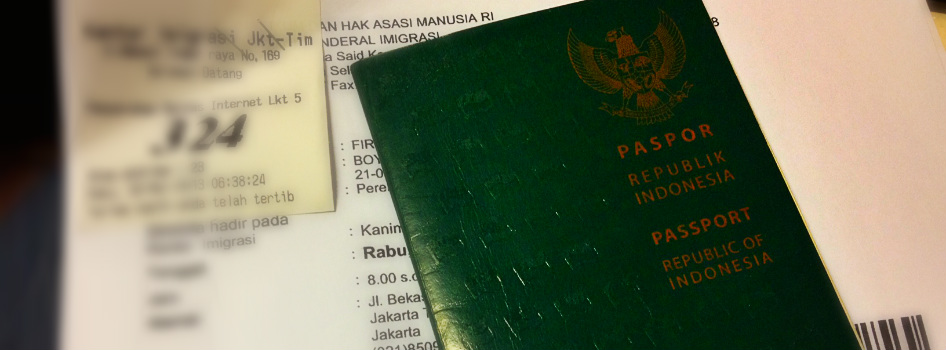 How To Do Online Indonesian Passport Application Discover Your