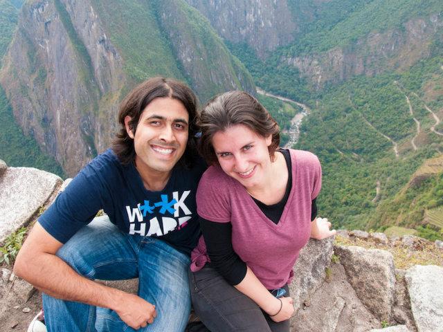 Backpack ME in Machu Picchu, Peru, where we got engaged