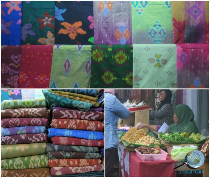 shop at Beringharjo market Yogya