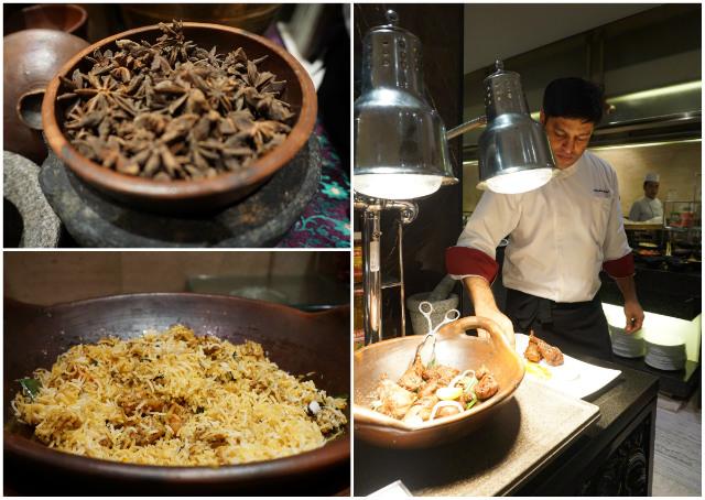 chef Ashwani kempinski colours of india