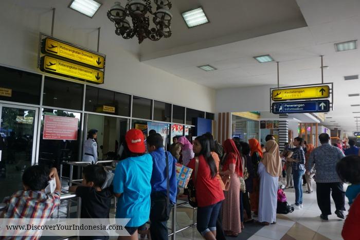 Departure terminal Yogya Airport
