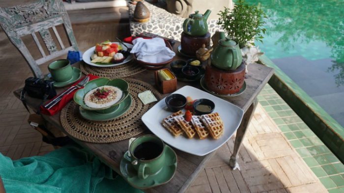Breakfast at Tugu Lombok