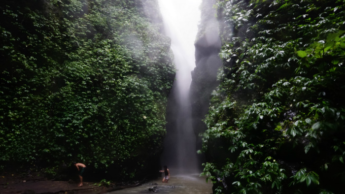 Gangga Waterfall the third Lombok