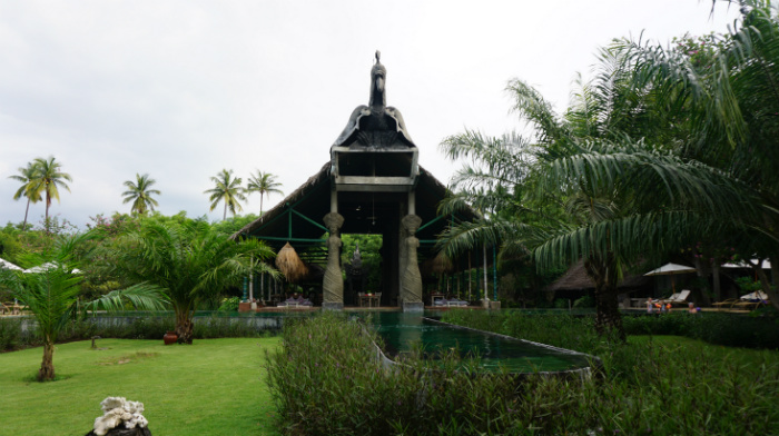 Tugu Lombok Indonesia Bale Kokok Pletok