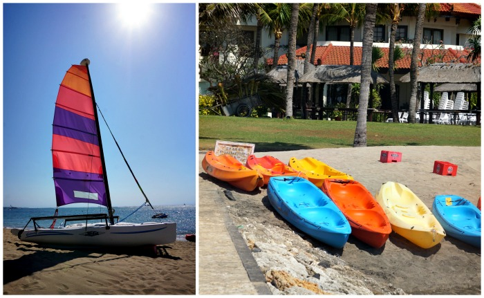 water sports in nusa dua