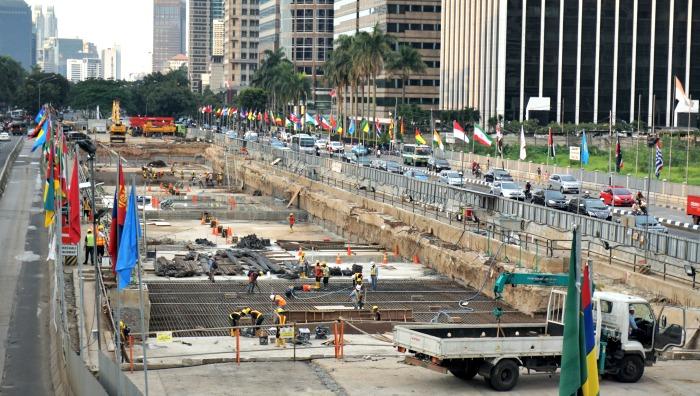 Roads in Jakarta infrastructure