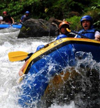 White Water Rafting Bali A Half Day Tour
