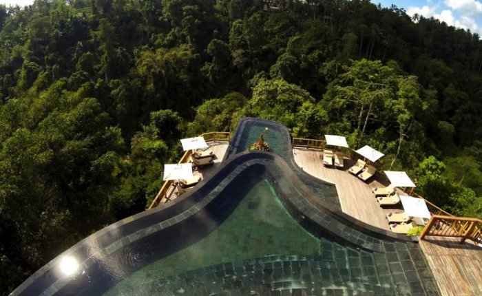 Hanging gardens pool ubud discover your indonesia for Hanging garden pool ubud