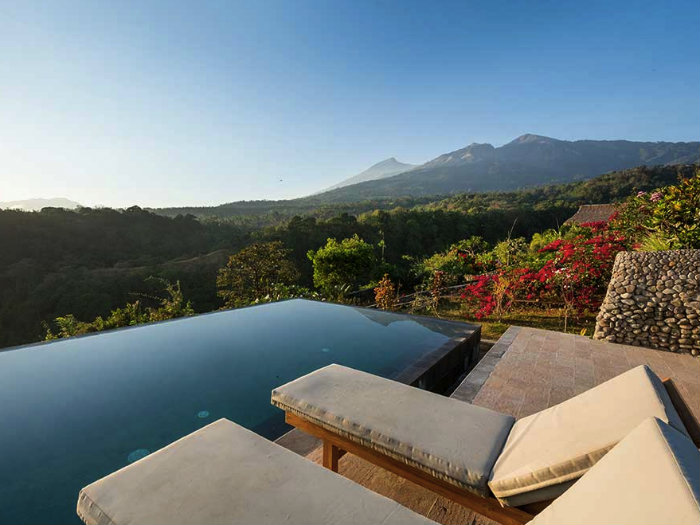 The Rinjani Lodge Pool