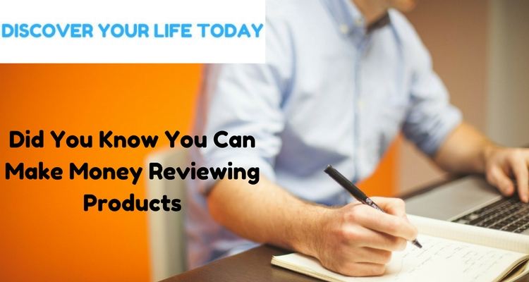 Did You Know You Can Make Money Reviewing Products