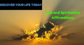 God and Spirituality Affirmations