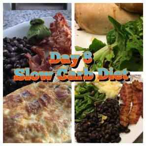 Slow Carb Diet Day 8